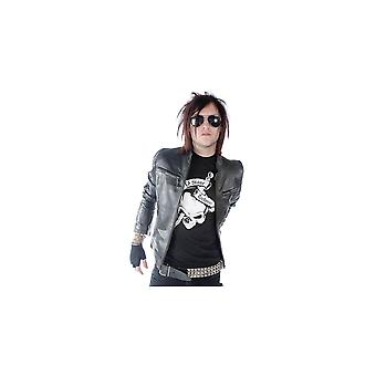Attitude Clothing Fitted Leather Biker Jacket
