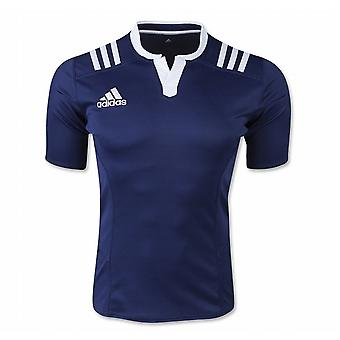 ADIDAS 3 stripe training / match rugby jersey [navy]
