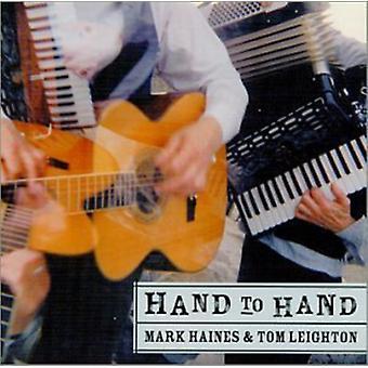 Hines/Leighton - hånd til hånd [CD] USA import