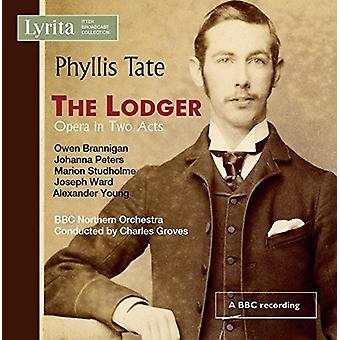 Tate / Brannigan / Peters / Studholme / Ward - Tate: The Lodger [CD] USA import