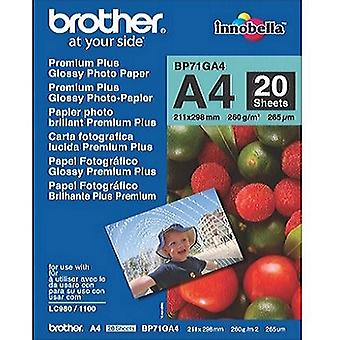 Brother premium plus glossy A4 photo paper