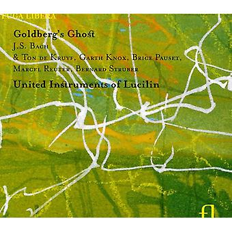 Forenet instrumenter af Lucilin - Goldbergs Ghost [CD] USA import