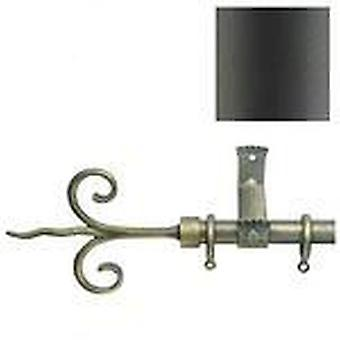 AFT Terminal Forge Lis Black Ø20 (Home , Textile , Curtains , Bars and accessories)