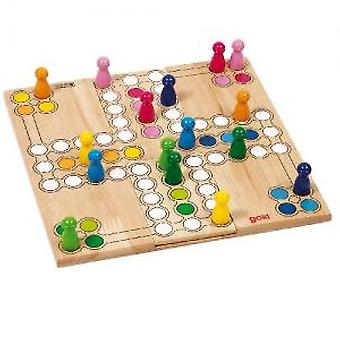 Goki Ludo board game (Toys , Boardgames , Strategic)