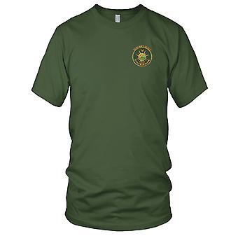 E.U. Marinha DD-858 USS Fred T. Berry bordada Patch - Mens T-Shirt