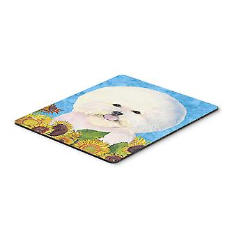 Carolines Treasures  SS4160MP Bichon Frise Mouse Pad, Hot Pad or Trivet