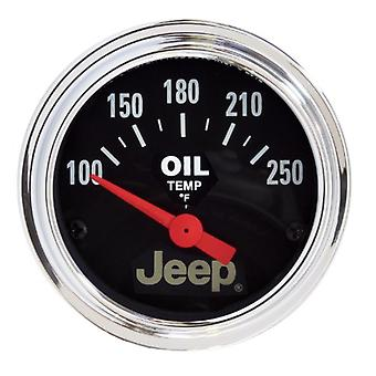 Auto Meter 880429 Jeep Electric Oil Temperature Gauge