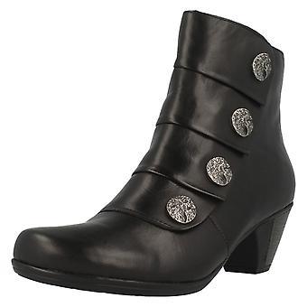 Ladies Remonte Ankle Boots D1293