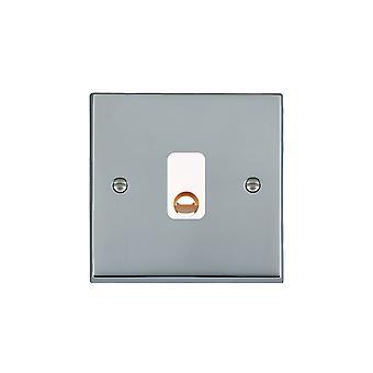 Hamilton Litestat Cheriton Victorian Bright Chrome 20A Cable Outlet WH