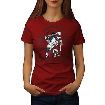 Girl Japan Woman Women RedT-shirt | Wellcoda