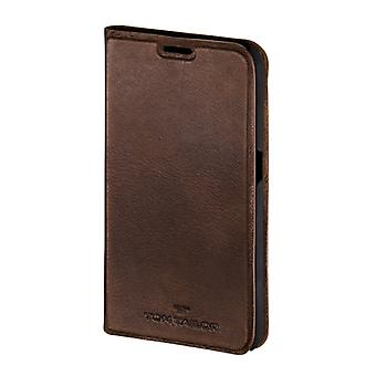Tom Tailor Booklet Authentic Galaxy S6 Bruin