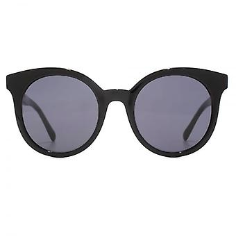 Stella McCartney Falabella Round Cateye Sunglasses In Black