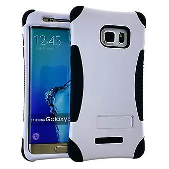 Kicker serien Protector tilfelle for Samsung Galaxy S6 kanten pluss (honning hvit snapin w