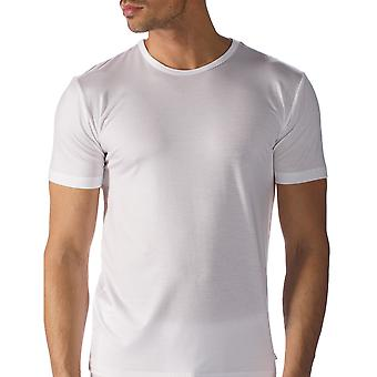 Mey 34202-101 Men's Network White Solid Colour Short Sleeve Top