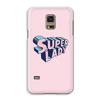 Samsung Galaxy S5 Mini Full Print Case - Super lady