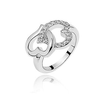 Womens Love Heart Ring