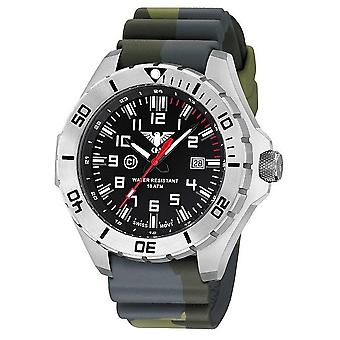 KHS watches mens watch steel KHS country leader. LANS. DC3