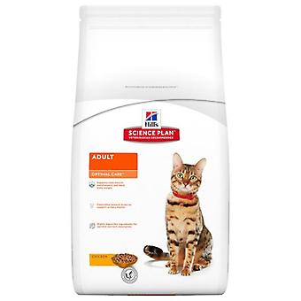 Hill's Adult Optimal Care Chicken (Cats , Cat Food , Dry Food)