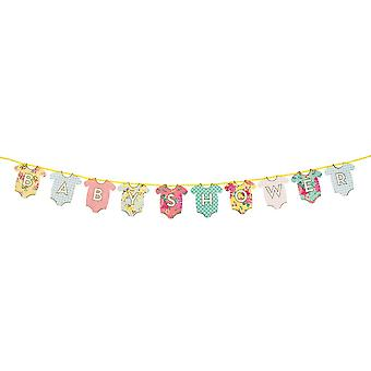 Talking Tables Truly Baby Baby Shower Garland Bunting Hello Baby 3m