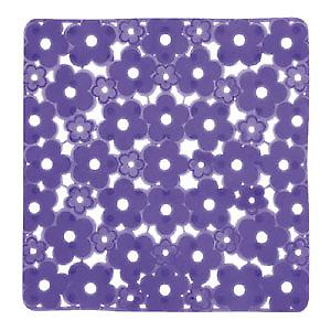 Showermat Margherita Shower Mat Electronic Blue 975151-P1