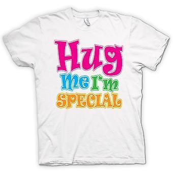 Mens T-shirt - Hug Me Ich bin Spezial - lustig