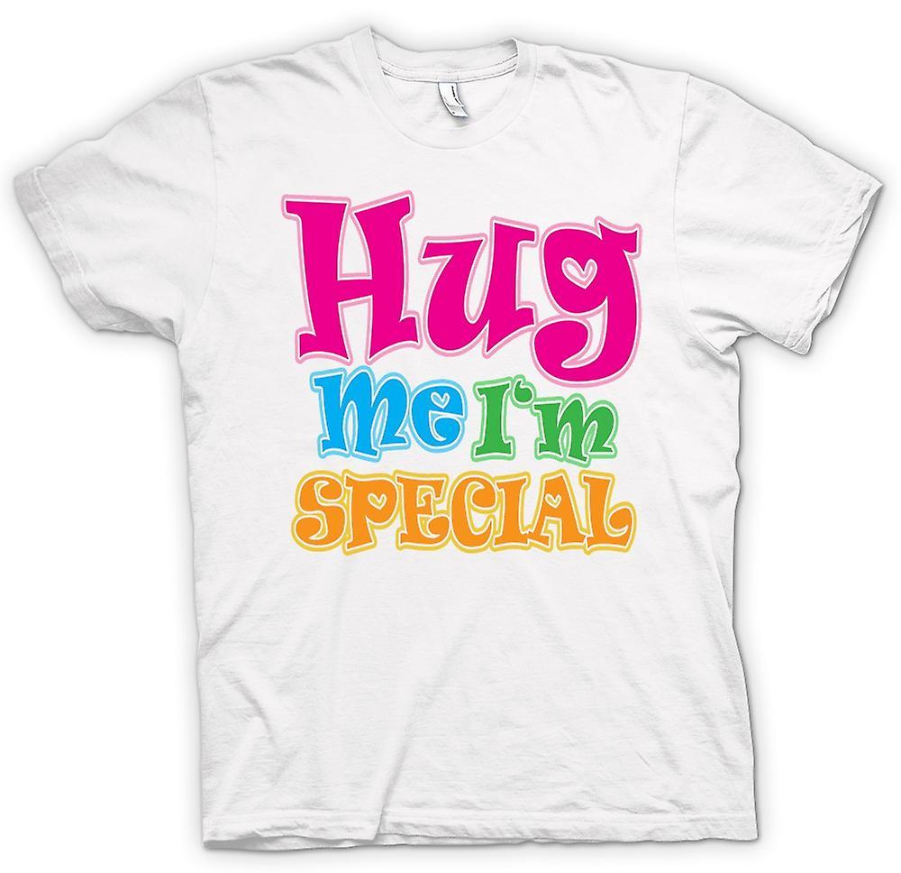 Womens T-shirt - krama mig jag är speciell - rolig