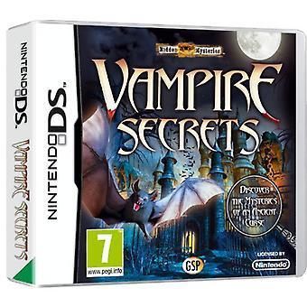 Secrets cachés Mys Vampire (Nintendo DS)