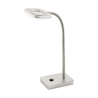 Eglo LED テーブル ランプ ライト ニッケル マット Litago