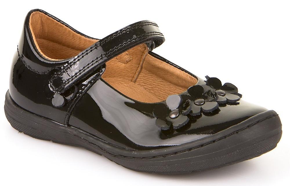 Froddo Girls G3140074 School chaussures noir Patent