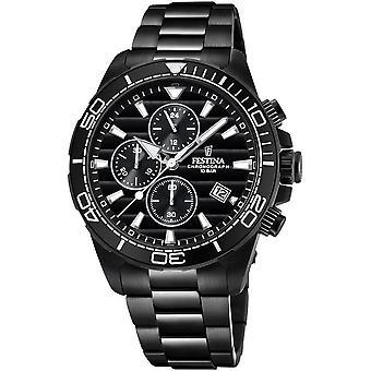 Festina mens watch chronograph F20365/3