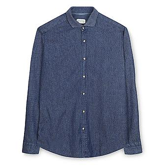 Fabio Giovanni Dimonte Shirt - Crafted in Italian Stonewashed Cotton Denim, High Quality Shirt