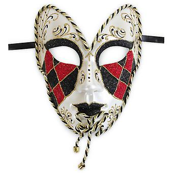 Masque de carnaval de Venise masque noble Venezia bande
