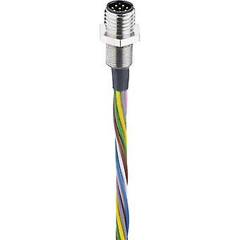Belden 000091740 Sensor/actuator ingebouwde connector stekker M8, mount 0,50 m nr. van spelden (RJ): 8-1 PC('s)