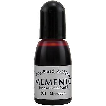 Memento Dye Ink Refill .5oz-Morocco