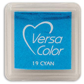VersaColor Pigment Mini Ink Pad-Cyan