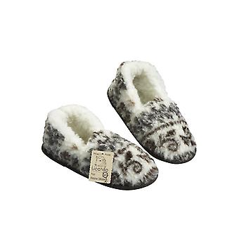 Moccasin slipper foot warmer STOCKHOLM size 40/41 new wool