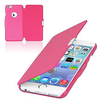 Flip cover mouw zaak telefoon dekking Bookstyle voor Apple iPhone 6 / 6 s roze