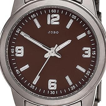 JOBO ladies wrist watch quartz analog mens watch titanium
