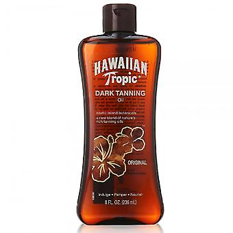 Hawaiian tropic mørke tanning olje, original, 8 oz