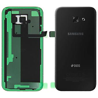 Housing part back cover, for Samsung Galaxy A5 2017 - Black
