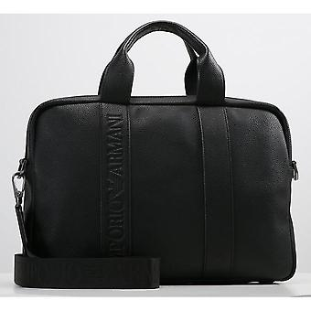 Emporio Armani - Sac porte-documents avec 2 zips
