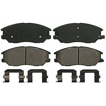 Wagner QuickStop ZD1013 Ceramic Disc Pad Set Includes Pad Installation Hardware, Front