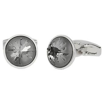 Simon Carter Swarovski Sea Urchin Cufflinks - Grey/Silver