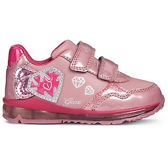 Geox Girls Todo B8485A Trainers Pink