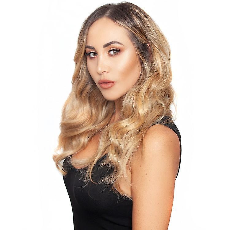 #18 Golden Blonde - Clip-in Hair Extensions - Full Head