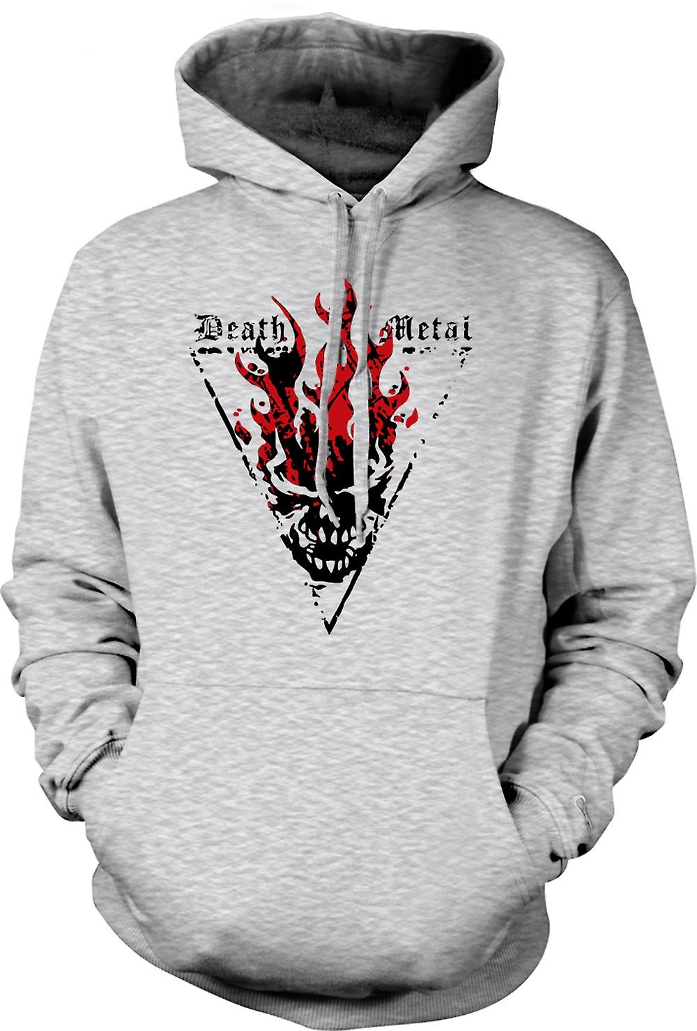 Mens hettegenser - Death Metal - Thrash djevelen gotisk