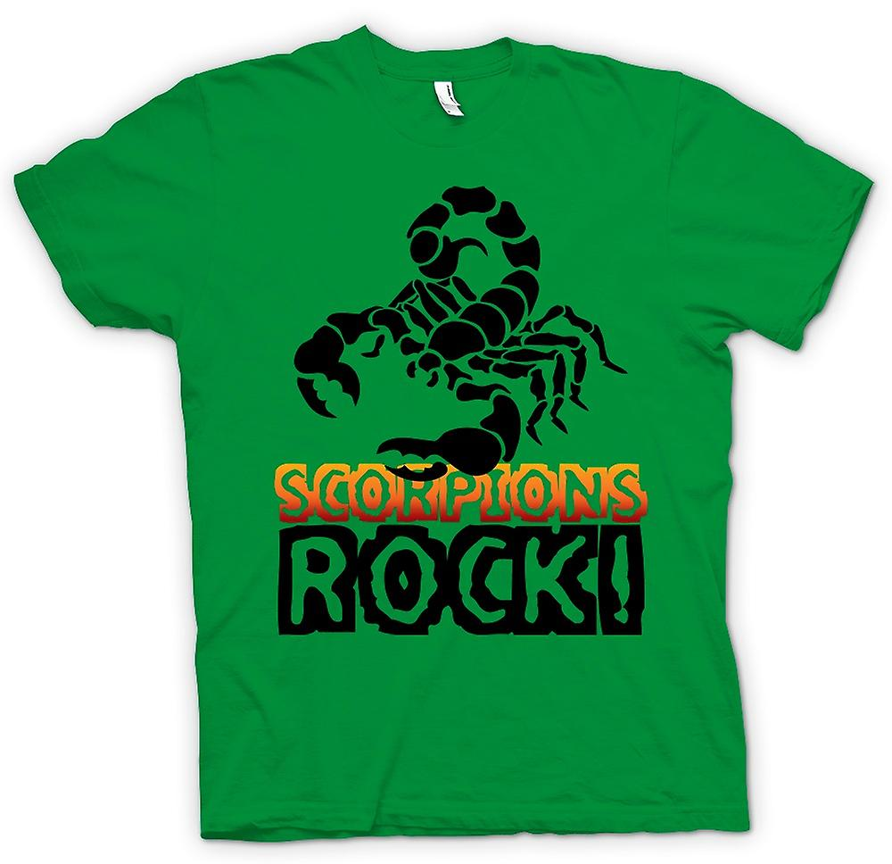Mens T-shirt - Scorpions Rock