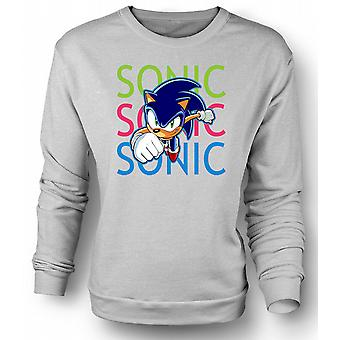 Barn Sweatshirt Sonic The Hedgehog - Gamer