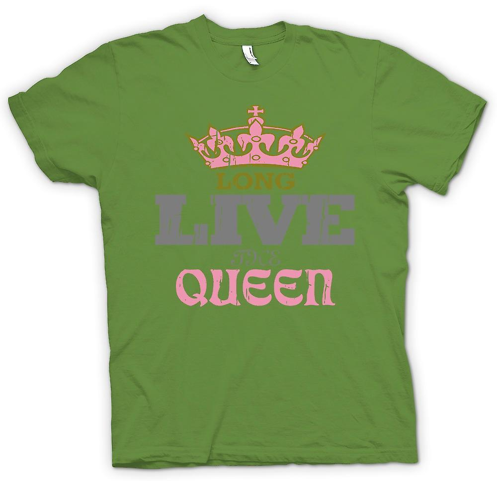 Mens T-shirt - Long Live The Queen - Royal Family