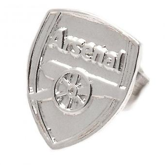 Arsenal FC Sterling Silver Stud Earrings